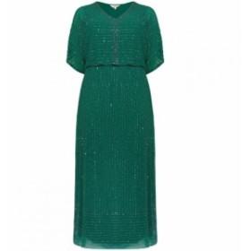 スタジオ8 Studio 8 レディース ワンピース ワンピース・ドレス Hera Beaded Maxi Dress Emerald