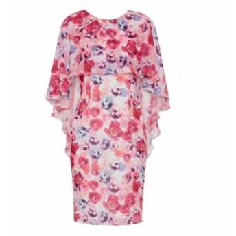 ジーナ バッコーニ Gina Bacconi レディース ワンピース ワンピース・ドレス Idra Dress And Overcape Multi-Coloured