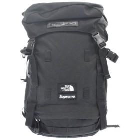 SUPREME(シュプリーム×ノースフェイス)16SS ×THE NORTH FACE Steep Tech Backpack ×ザノースフェイス バックパック リュック ブラック