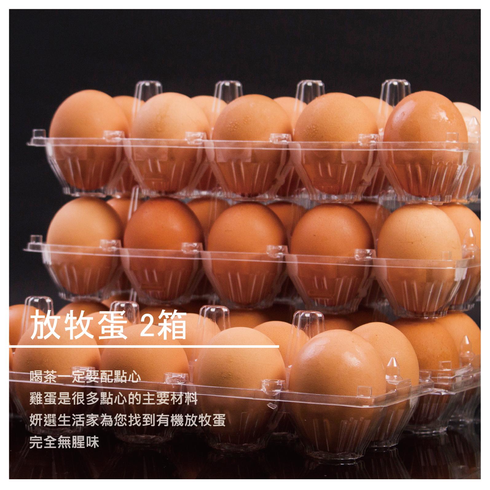 【禾心良食】放牧蛋 2箱
