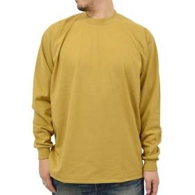 [プロクラブ] 大きいサイズ メンズ Tシャツ 無地 マスタード LL