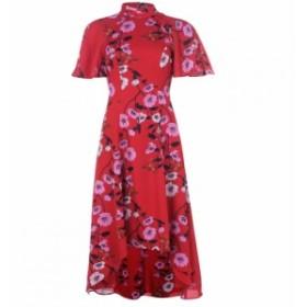 キープセイク Keepsake レディース ワンピース ワンピース・ドレス Darkness Midi Dress Scarlet Red