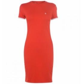ジャック ウィルス Jack Wills レディース ワンピース ワンピース・ドレス Goodrington Side Strap Ringer Dress Red