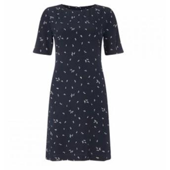 ガント Gant レディース ワンピース ワンピース・ドレス Microflower Print Dress EVENING BLU