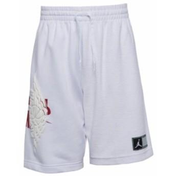 ジョーダン キッズ/ボーイズ ハーフパンツ Jordan Wings Futura Shorts スウェット White/Gym Red/Black