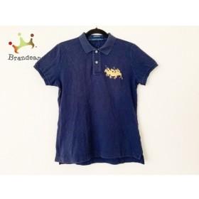 ラルフローレン RalphLauren 半袖ポロシャツ サイズXL レディース ネイビー 刺繍 新着 20190721