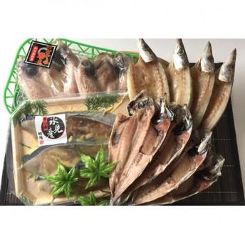 ぶり・のどぐろ入り特選氷見産きときと魚一夜干詰合せ