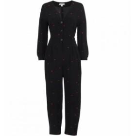ホイッスルズ Whistles レディース オールインワン ワンピース・ドレス Heart Print Tie Jumpsuit Black
