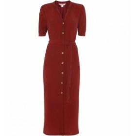 ホイッスルズ Whistles レディース ワンピース ワンピース・ドレス Dana Shirt Dress Burgundy
