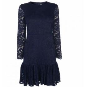 バルドー Bardot レディース ワンピース ワンピース・ドレス Rubi Lace Dress NAVY