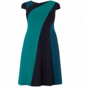 スタジオ8 Studio 8 レディース ワンピース ワンピース・ドレス Michelle Colour Block Dress Blue