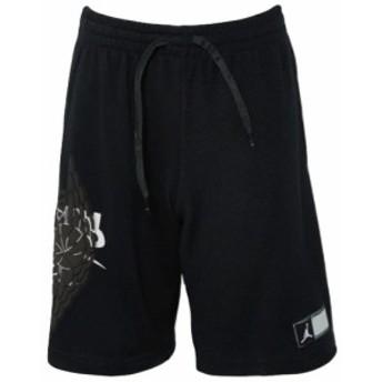ジョーダン キッズ/ボーイズ ハーフパンツ Jordan Wings Futura Shorts スウェット Black/White