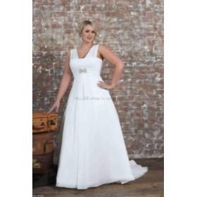 サイズオーダー可 ウェディングドレス  シンプルなマーメイドジュエルネックレースアップリケウェディングドレスブライダルドレス