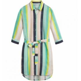 サンドイッチ Sandwich レディース ワンピース ワンピース・ドレス Bolt Stripe Linen Shirt Dress Multi-Coloured