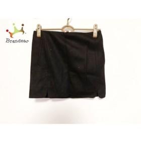 バレンシアガ BALENCIAGA ミニスカート サイズ36 S レディース 美品 黒 新着 20190721