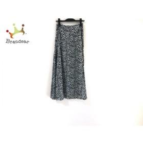 ブレンへイム BLENHEIM ロングスカート サイズS レディース 新品同様 黒×白 新着 20190721