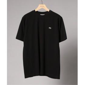 【20%OFF】 エディフィス LACOSTE / ラコステ ロゴカノコ クルーネック Tシャツ メンズ ブラック 4 【EDIFICE】 【タイムセール開催中】