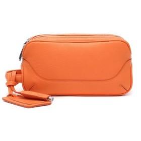 (GALLERIA/ギャレリア)PELLE MORBIDA ペッレモルビダ セカンドバッグ モルビダ サードバッグ サブバッグ ポーチ 革 レザー MB028/メンズ オレンジ