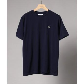 EDIFICE LACOSTE / ラコステ ロゴカノコ クルーネック Tシャツ ネイビー 3