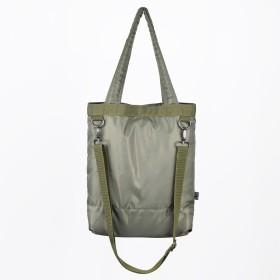 トートバッグ - NEVEREND SURPLUS ミリタリー 刺繍入り 2WAY ミニショルダートートバッグ