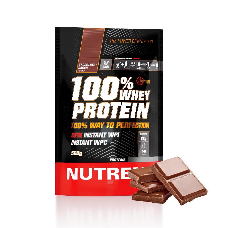 [捷克 Nutrend] 黃金比例乳清蛋白(500g)-巧克力黑可可風味(500g/包)