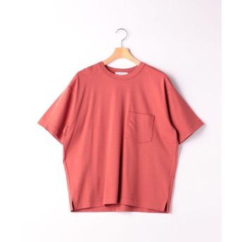 グリーンレーベルリラクシング SC ☆キシリトールCOOL クルー SS Tシャツ <機能性生地> メンズ BRICK S 【green label relaxing】