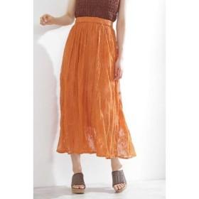 [マルイ]【セール】《EDIT COLOGNE》ワッシャーレーススカート/プロポーションボディドレッシング(PROPORTION BODY DRESSING)