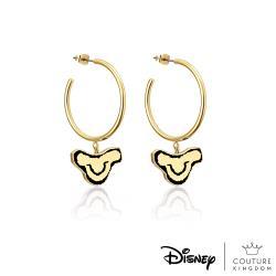 Disney Jewellery - Couture Kingdom 迪士尼獅子王 辛巴鍍14K金圓圈耳環