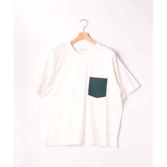 グリーンレーベルリラクシング SC ☆キシリトールCOOL クルー SS Tシャツ <機能性生地> メンズ WHITE L 【green label relaxing】