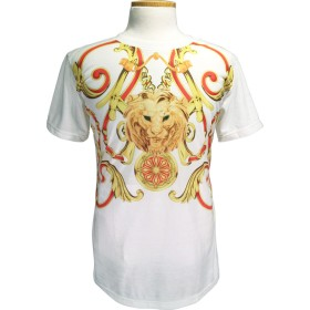 Tシャツ - OCTOPUSARMY 総柄プリントT thsst-00-leo 【WHITE】【オールオーバー】【LEO】【数量限定】【オクトパスアーミー】