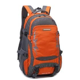 登山リュック 40L アウトドア 大容量 通勤 通学 ハイキング スポーツ クライミング カジュアル 防災 軽量 防撥水 旅行 登山かばん オレンジ