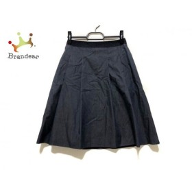 ヒューゴボス HUGOBOSS スカート サイズ36(I) S レディース ネイビー   スペシャル特価 20191102