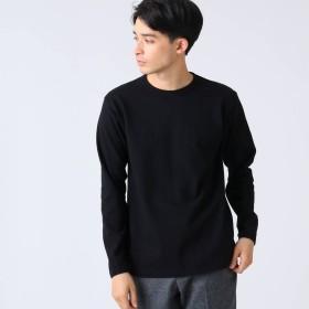 ドレステリア DRESSTERIOR ポケットロングTシャツ ヘビーウェイト天竺 (ブラック)
