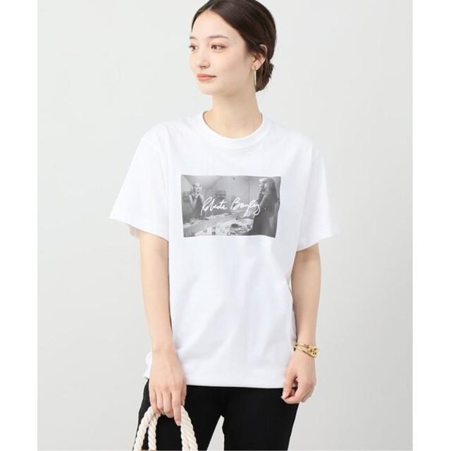 B.C STOCK 【Roberta Bayley / ロベルタ・ベイリー】 photo Tシャツ ホワイト フリー