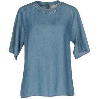 《セール開催中》3.1 PHILLIP LIM レディース デニムシャツ ブルー 6 指定外繊維(テンセル) 100%