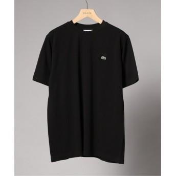 EDIFICE LACOSTE / ラコステ ロゴカノコ クルーネック Tシャツ ブラック 2