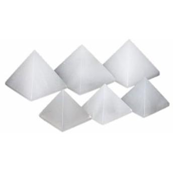 【置き石】ピラミッド型 約30mm ホワイトオニキス 1個売り 風水 パワーストーン
