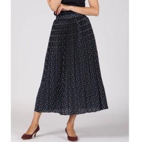 Viaggio Blu / ビアッジョブルー ヨットプリントプリーツスカート
