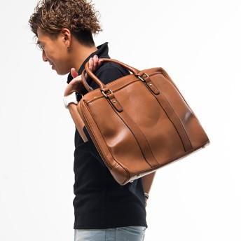 ビジネスバッグ - SILVER BULLET 鞄 ブリーフケース メンズ SB select【シルバーバレットセレクト】フェイクレザーブリーフケース 全5色ビジネスバッグ メンズバッグ 通勤 鞄 カバン PUレザー A4 大容量 パソコン 2WAY ショルダー リクルート 就活