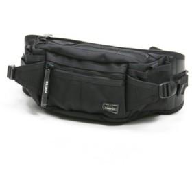 (Bag & Luggage SELECTION/カバンのセレクション)吉田カバン ポーター ヒート ウエストバッグ ボディバッグ メンズ レディース ブランド A6 PORTER 703-06979/ユニセックス ブラック