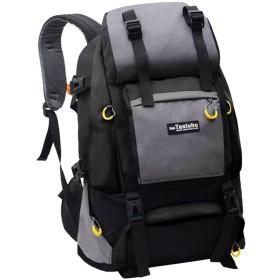 LSERVER アウトドア バックパック 登山リュック 50L 大容量 男女兼用 リュックサック 撥水 通気 登山用バッグ ハイキングバッグ カラー選べる