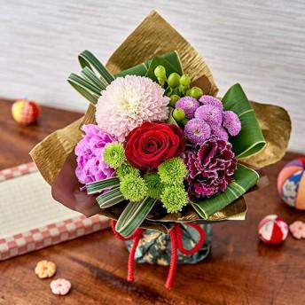 【日比谷花壇】そのまま飾れるブーケ「和華」