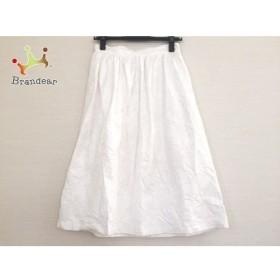 エムエスジィエム MSGM スカート サイズ40 M レディース 白   スペシャル特価 20191006