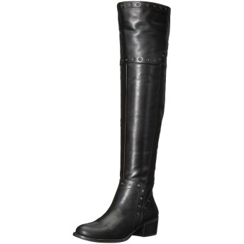 Vince Camuto Womens Bestan Almond Toe Fashion Boots, Black, Size 6