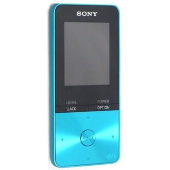 【中古】SONYウォークマン Sシリーズ NW-S313 ブルー/4GB