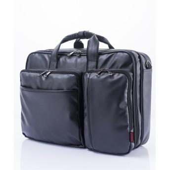 ビジネスバッグ - KYOWA [マンハッタンエクスプレス] MANHATTAN EXP. ビジネスバッグ PVC 合皮付属 3WAY ダブル 42cm53-80880