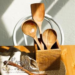 【Homely Zakka】木趣食光柚木飯勺