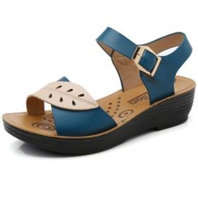 夏の新しい靴女性のフラット快適な滑り止めソフトサンダル