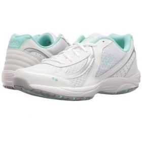 [ライカ] レディース 女性用 シューズ 靴 スニーカー 運動靴 Dash 3 - White/Chrome Silver/Yucca Mint 9 B - Medium [並行輸入品]