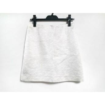 アドーア ADORE ミニスカート サイズ36 S レディース 美品 アイボリー ラメ【中古】20190713
